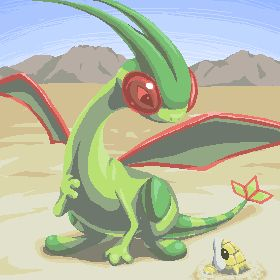 Flygon - Ground/Dragon Earthquake Fly Hyper Beam Screech