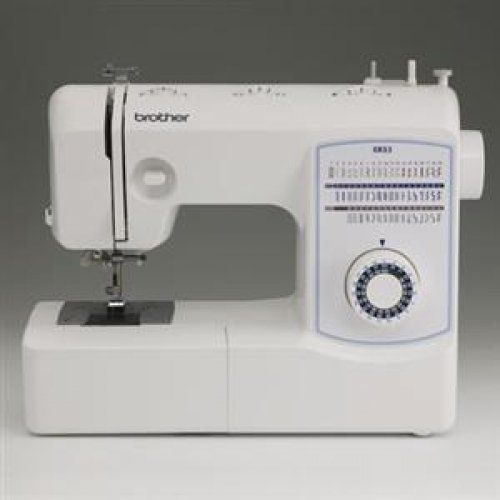 Brother Mechanical Sewing Machine - With built-in elastic and blind hem stitches the Brother XR53 Sewing Machine can sew straight satin and zigzag stitches! In addition the XR53 is equipped with L...