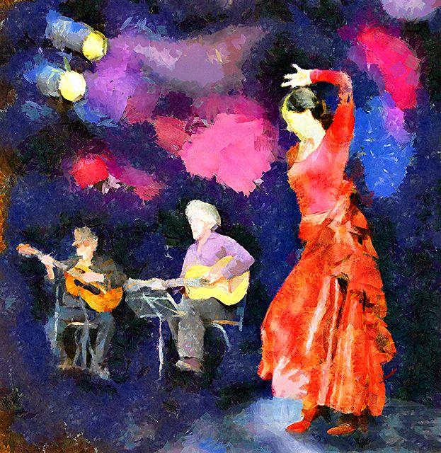 Flamenco: Photo by Photographer Pavel Potocek