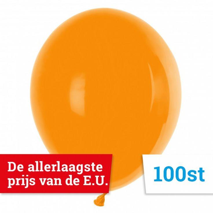 GT90 Pastel - Ballonnen Oranje 100 stuks 29 cm