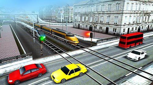 Euro train driving games: capturas de pantalla del juego para Android. Jugabilidad Tren europeo: Juego de control .