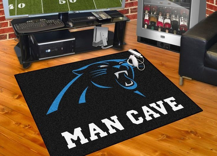 An Ideal Way To Show Your True Team Spirit, This Stylish Rug Complements  The Decor In Any Space. Show Off Your Love For The Carolina Panthers With  This ...