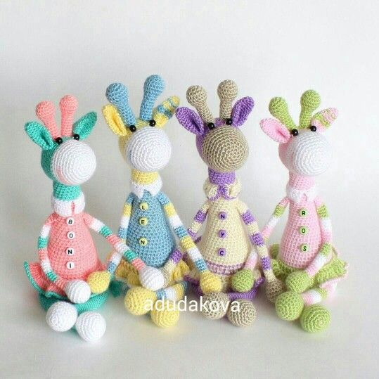 307 best Crochet - Giraffes ! images on Pinterest ...