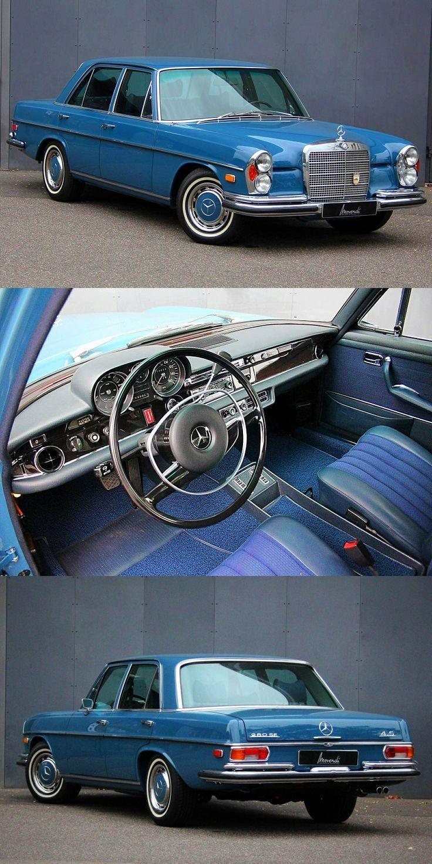 1972 Mercedes Benz 280 SEL 4.5 V8 Limousine – Markus & # 39; Autos – #Autos #Benz #Li …   – Wunderschöne Auto-Bilder