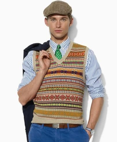 50 best Fair Isle Sweaters images on Pinterest | Fashion for men ...