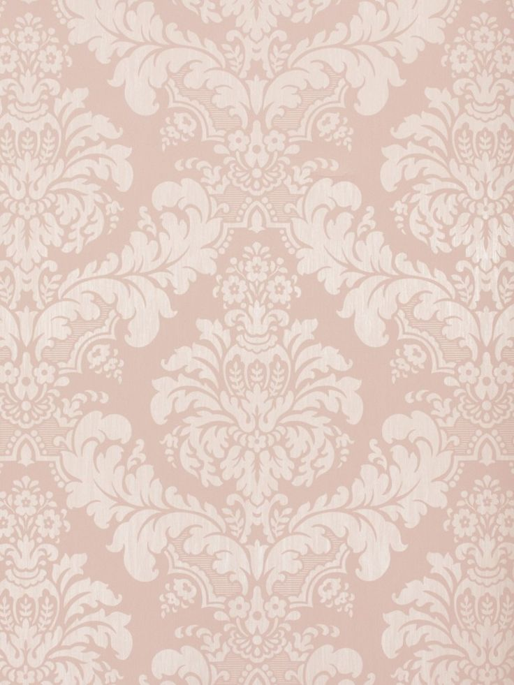 Country charm tapete rasch textil satintapete landhaus for Ornament tapete rosa