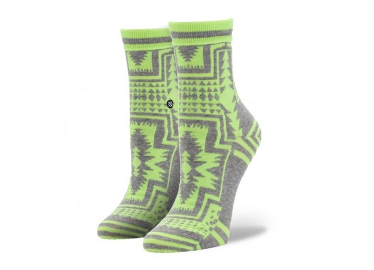 Durango Socks by STANCE - Neon Yellow... need I say more? Obsessed.. $14 #stancegal