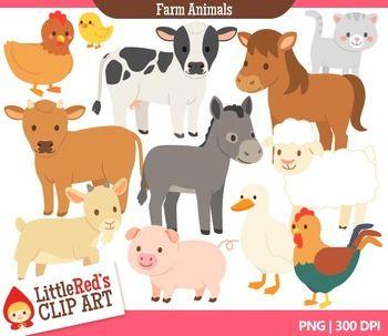 Free farm animal clipart for teachers - photo#17