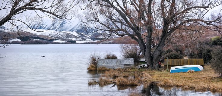 Sweet Winter Air - Lake Alexandrina, New Zealand