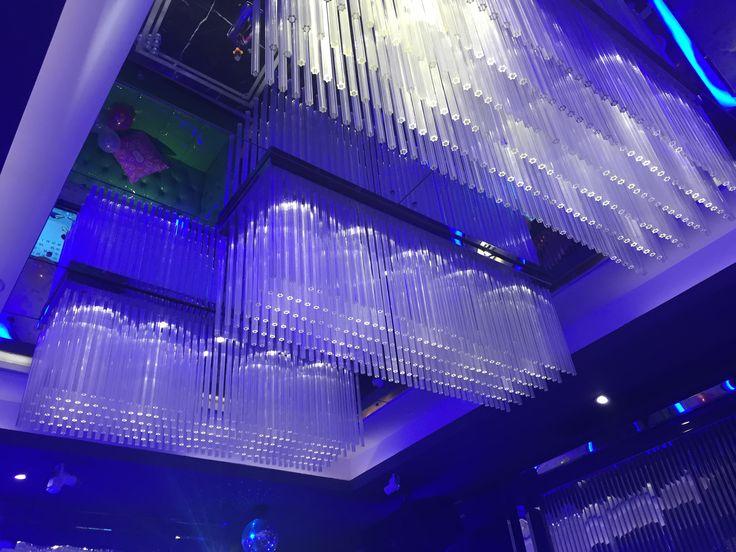 Acrylic lighting acrylic rod lighting acrylic  Chandelier  #Keias Acrylic#