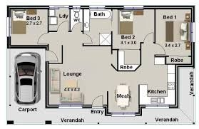 Granny Cottage Plans Australian 2 Bedroom Small House Plan 2 Bedroom Cottage