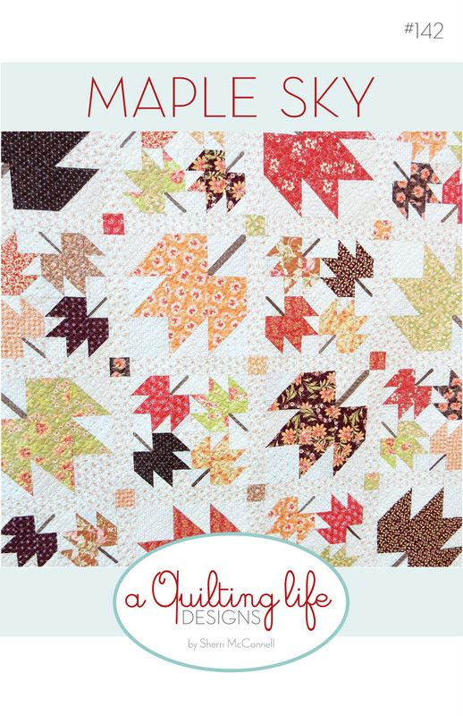 408 Best Maple Leaf Quiltsblocks Images On Pinterest Quilt Block