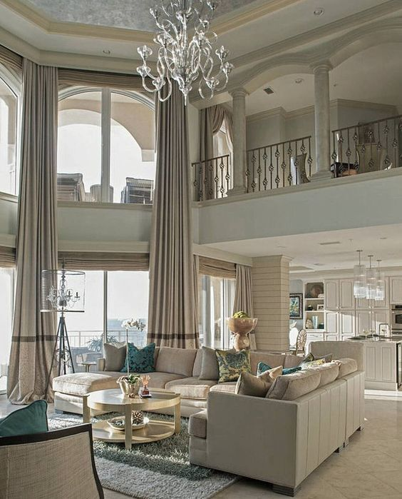 Luxury Home Interior Design Living Rooms: Best 25+ Two Story Windows Ideas On Pinterest