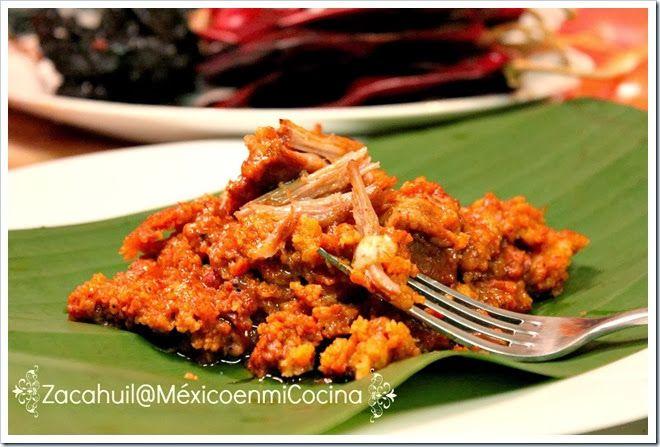 Receta de zacahuil, Huasteca Potosina y Veracruzana, Mexico.