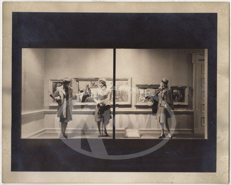 1960s WOMENS FASHION CLOTHING VINTAGE MINNEAPOLIS STORE DISPLAY PHOTOGRAPH