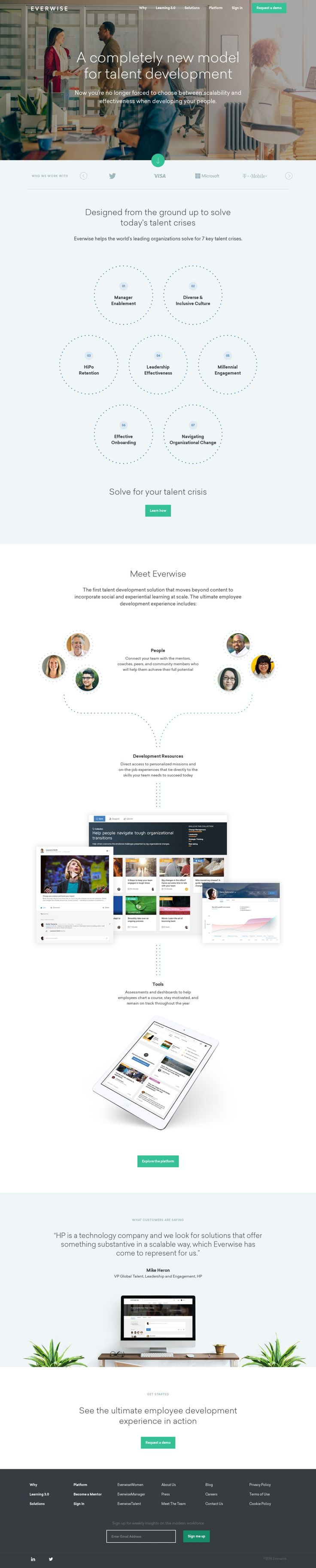 Everwise Enterprise Social Learning Platform