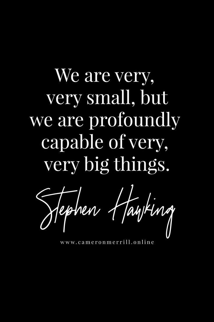 stephen hawking inspirational quote cameronmerrill.online