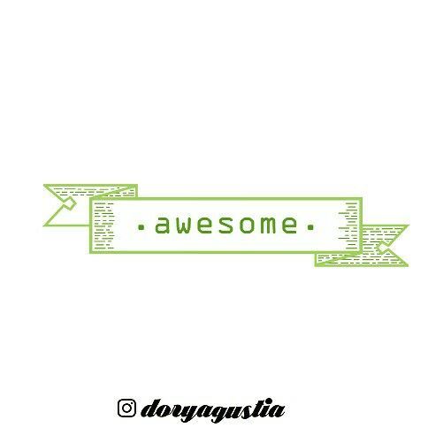 Awesome type
