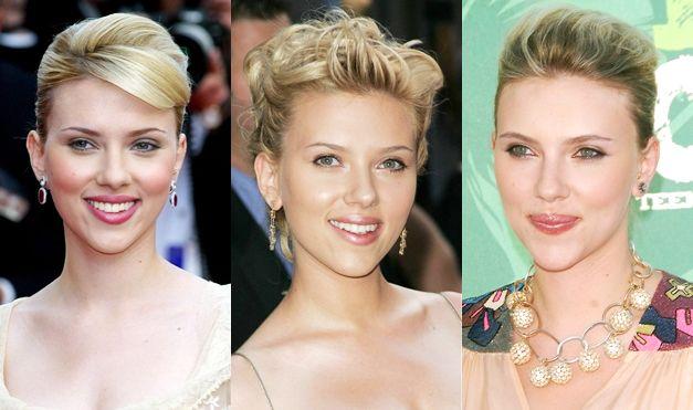 Scarlett Johansson Updos