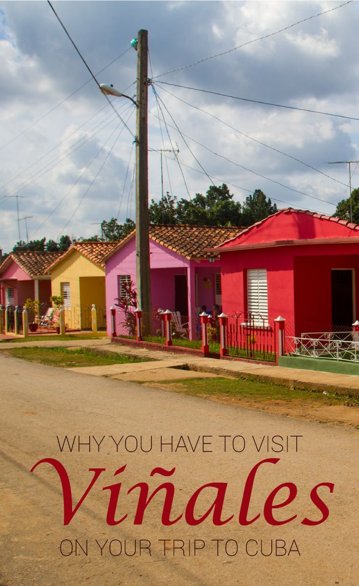 Why You Have To Visit Viñales On Your Trip To Cuba. Viñales is a great escape from the busy cities in Cuba such as Havana. The valley is perfect for horse riding and checking out the tobaccofarms.