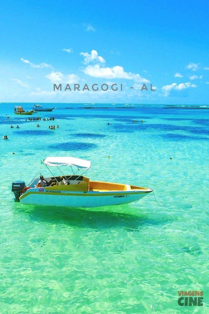 Maragogi, na Costa dos Corais em Alagoas, é um dos destinos também conhecidos como Caribe Brasileiro