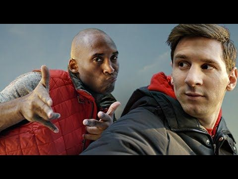 Kobe vs. Messi: The Selfie Shootout #PositiveAds #PositiveSaurus