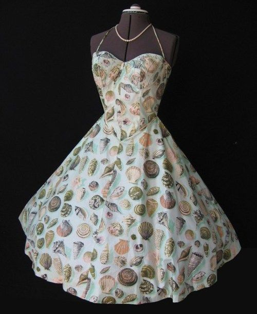 I like this sea shell dress allot