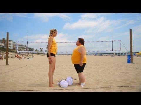 Craziest Beach Volleyball Game Ever (w/ Kerri Walsh Jennings)!
