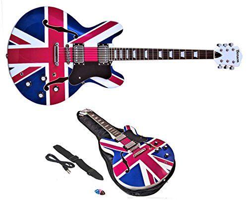 benson  ES Double cutaway union jack semi-acoustic hollow body electric guitar package (RUBY JACK) No description (Barcode EAN = 5060218753308). http://www.comparestoreprices.co.uk/december-2016-6/benson-es-double-cutaway-union-jack-semi-acoustic-hollow-body-electric-guitar-package-ruby-jack-.asp