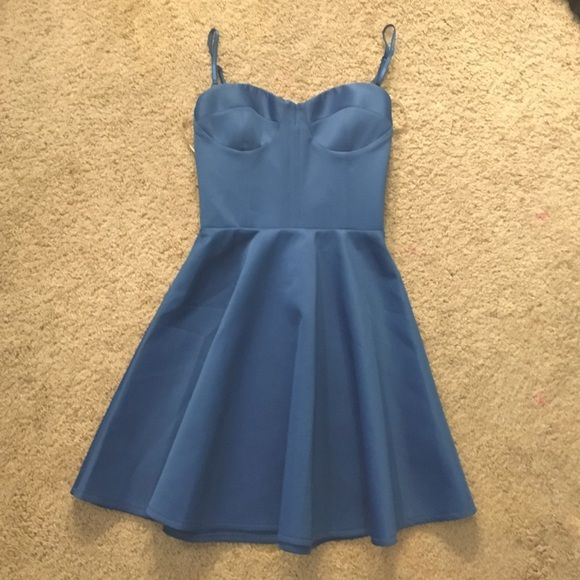 Blue ASOS Formal Dress Royal blue color. Never before worn. In excellent condition. Can be worn strapless or with straps. Bought online so no retail tags or price tags, but the original ASOS tag is still attached. ASOS Dresses