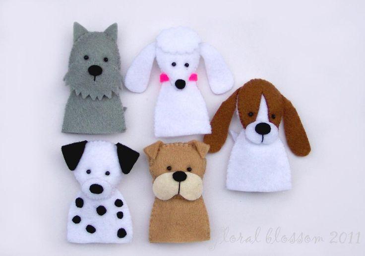 Free Felt Craft Patterns   Dog Puppet Pattern – Images of Patterns