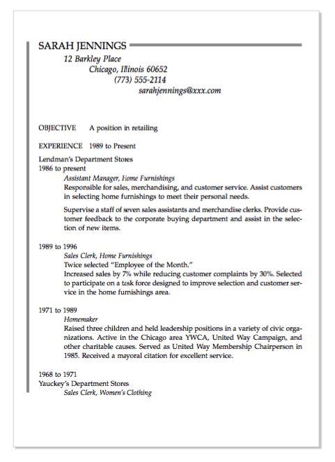 pin on example resume cv