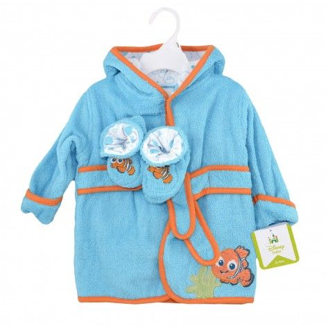 """FINDING NEMO Bath Robe and Booties Set From Toys""""R""""US"""