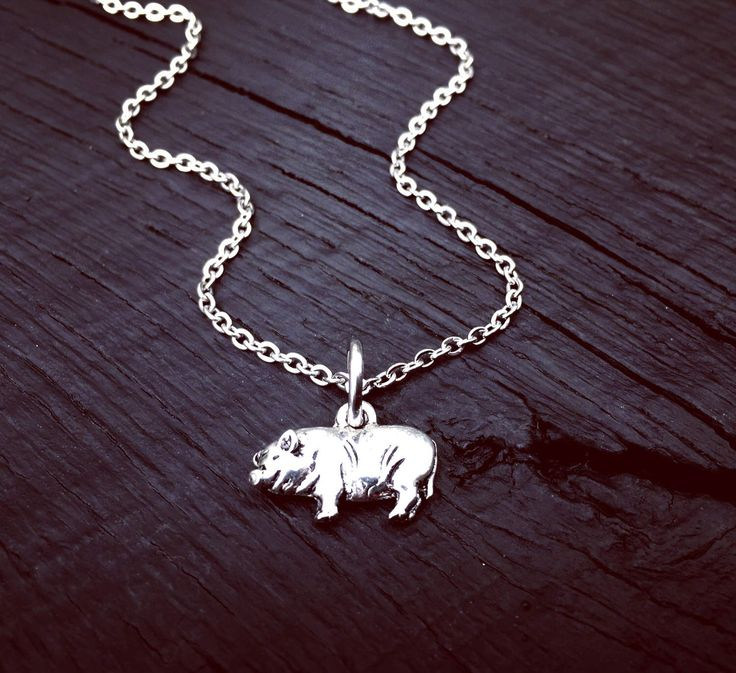 Pig Charm Necklace | Pot Belly Pig Jewelry | Mini Pig | Pet Pig Lover Gift | Jewelry Gift For Pig Mom | Micro Mini Pig | Pig Rescue & Foster by SecretHillStudio on Etsy https://www.etsy.com/listing/518267949/pig-charm-necklace-pot-belly-pig-jewelry