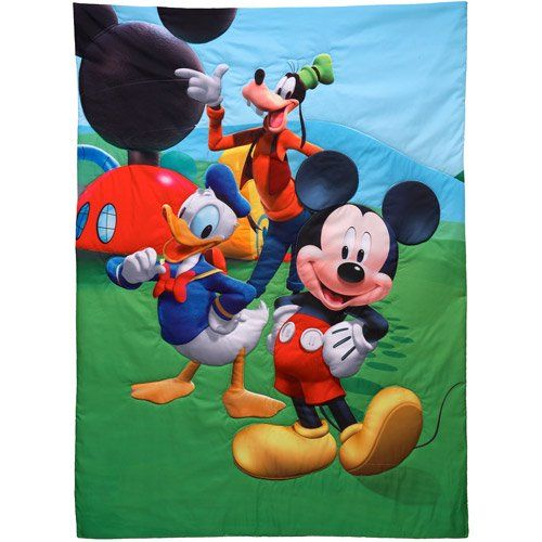 Disney - Mickey Mouse Playground Pals 4pc Toddler Bedding ...