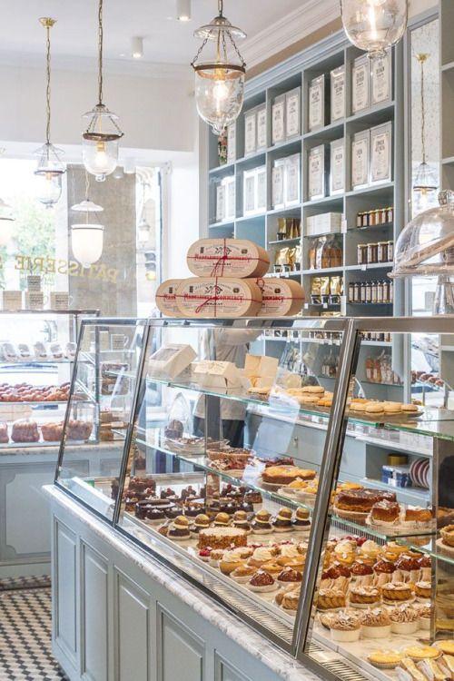 pastry on display inside sebastien gaudard, paris | shopping + travel #patisserie