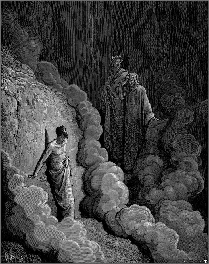 A look at the portrayal of hell from inferno in divine comedy by dante alighieri