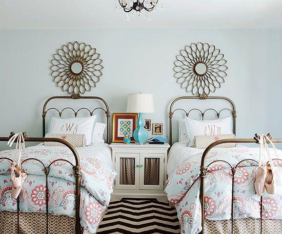 Dormitorio precioso para niñas