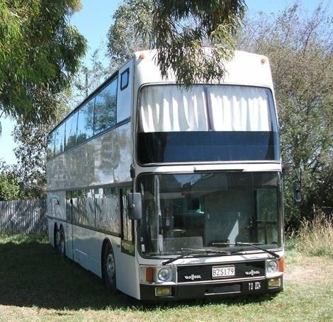 Van Hool Unique Double Decker Motorhome For Sale