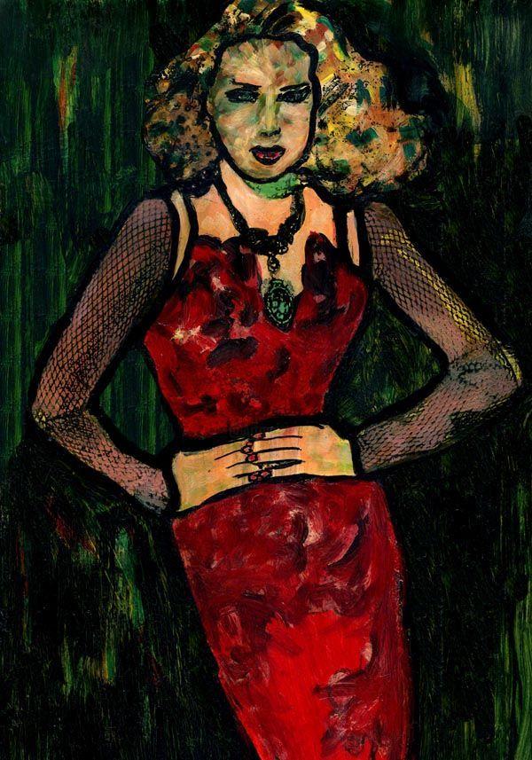 14- KARMA de Arte. Yo SOY. (Pintura),  30x21 cm por Cris ACQUA Pintura
