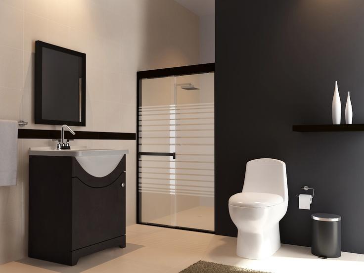 Colores y acabados que dan a tu baño un toque de elegancia.