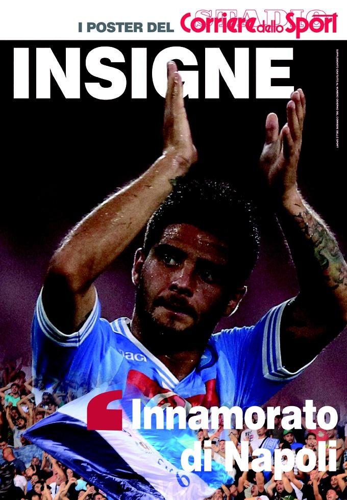 Edicola I Poster del Corriere dello Sport Insigne