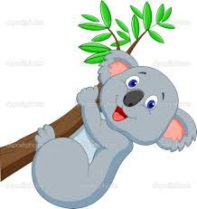 Výsledek obrázku pro koala kreslená