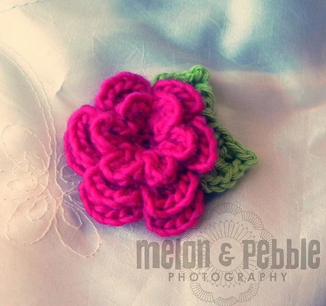 The Perfect Rose flower by Lori Murphy - free #crochet pattern