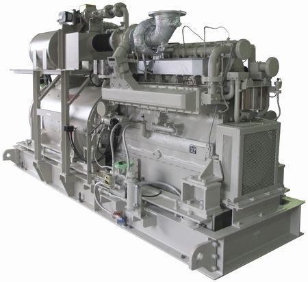 高効率のガスコージェネ発電機、出力450kWで総合効率80%超 | エネルギー | スマートエネルギー情報局 | 明日のエネルギーのベストミックスを考える
