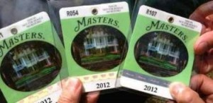 VIP Masters Tickets and Badges
