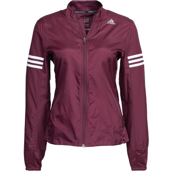 Adidas Sport Performance Rs Wind Jacket ($76) ❤ liked on Polyvore featuring activewear, activewear jackets, jackets, maroon, sports fashion, womens-fashion, adidas, logo sportswear, adidas sportswear and adidas activewear