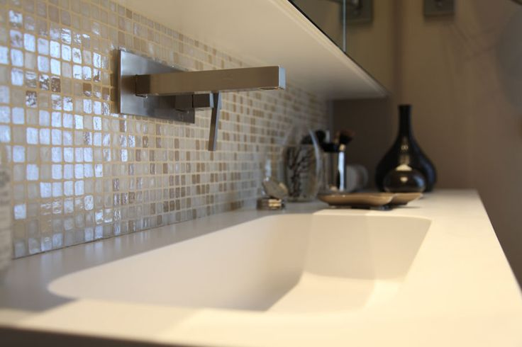 90 les meilleures images concernant salle de bain sur for Mosaique murale salle de bain