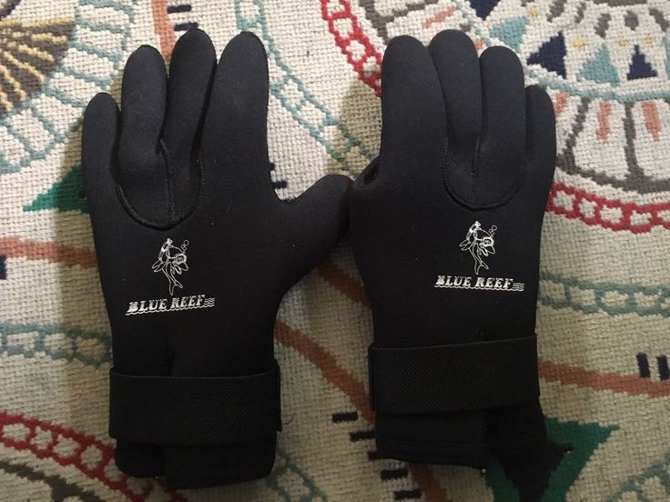 Blue Reef, Neoprene Scuba diving Gloves, LARGE, Excellent Condition!  | eBay
