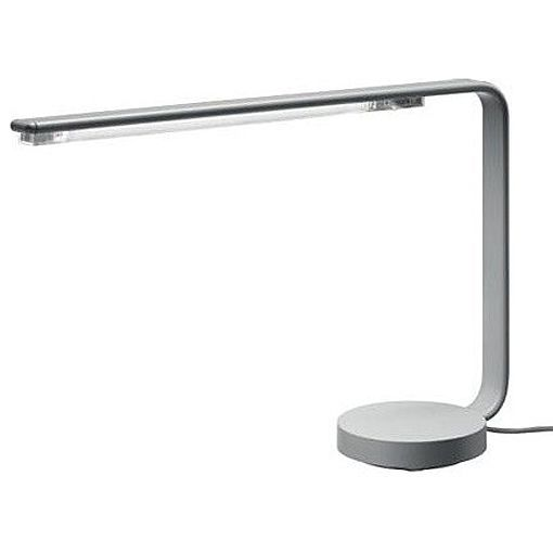 This Replica One Line Flu Table Lamp Offers A Cast Aluminum Base Which Rotates The By Artemide Is Designed Ora Ito 200